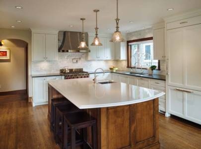 marine drive, vancouver bc custom home kitchen design
