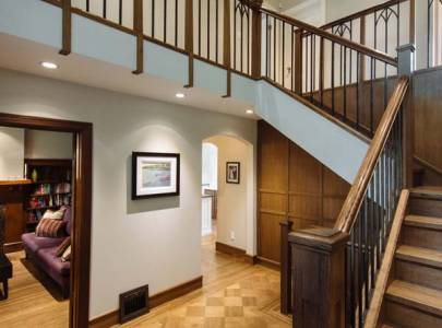 custom home staircase renovation vancouver, bc