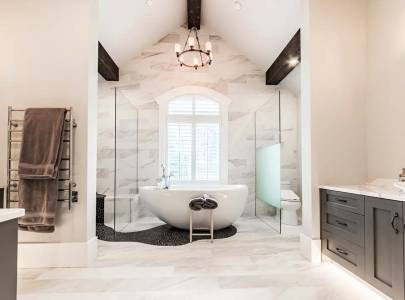 custom home bathroom in abbotsford, bc