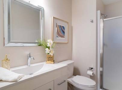 bathroom condo renovation in abbotsford, bc on yale road