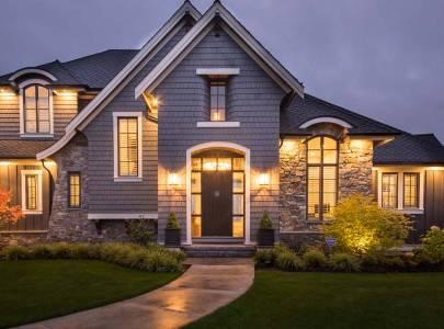 custom home build on bradner road in abbotsford, bc