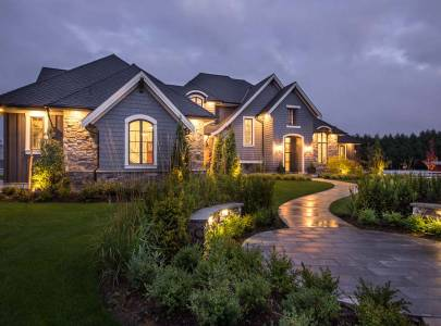 custom home on bradner road in abbotsford, bc