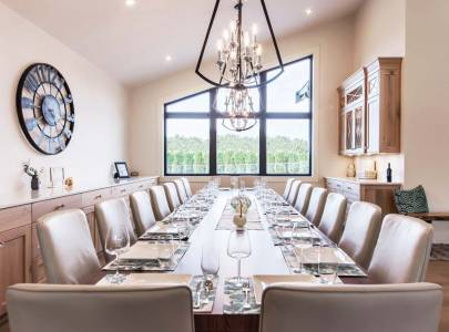 custom home dining room design abbotsford, bc