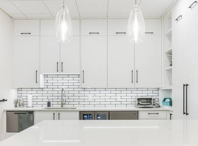 Kitchen of Office - Lindan Homes