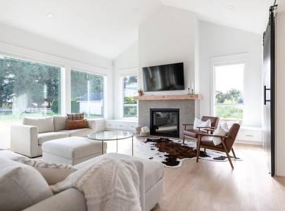 Living Room - Lindan Homes