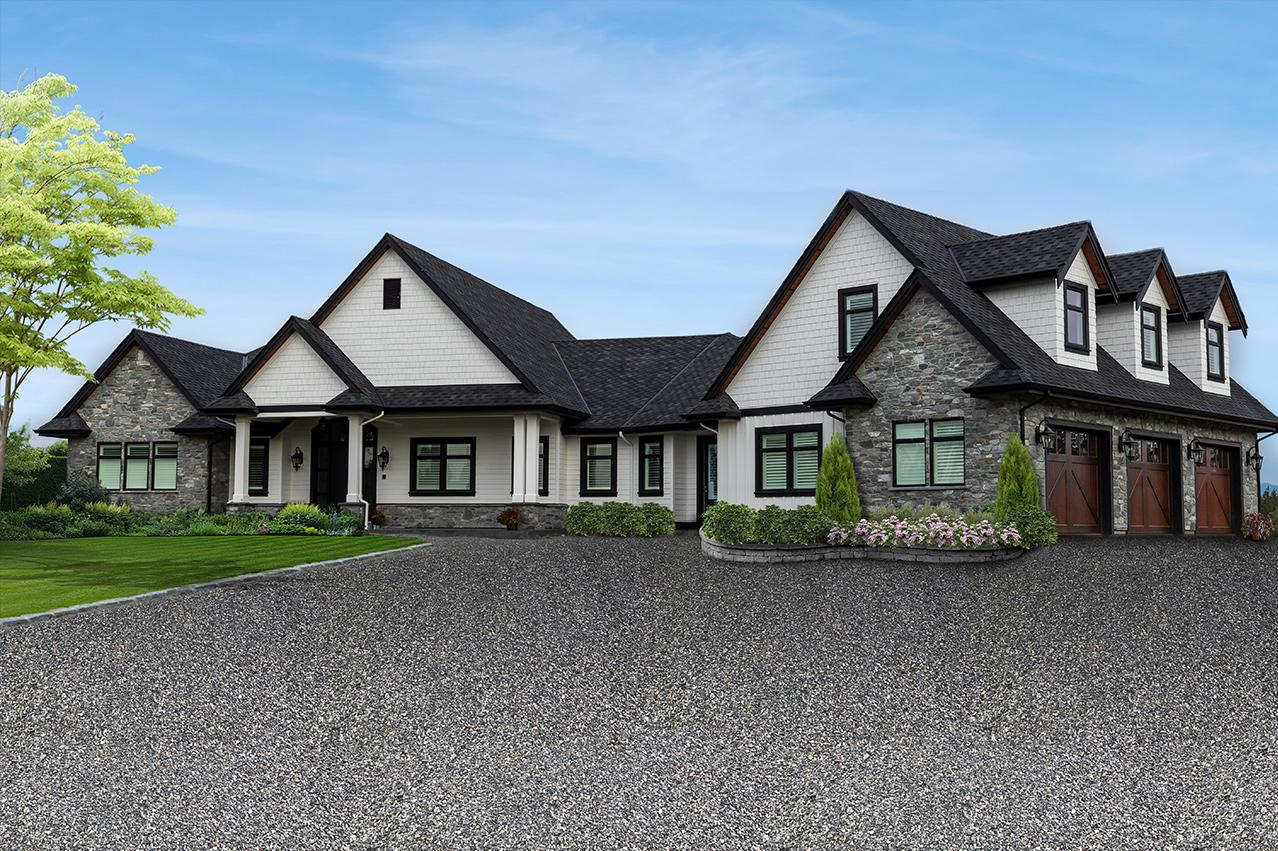 Custom Home - Lindan Homes