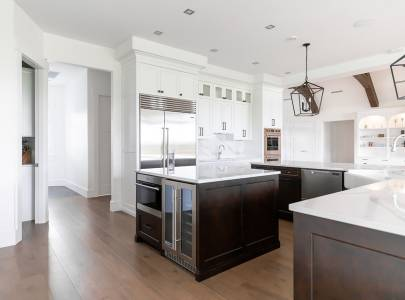 Kitchen With Furniture - Lindan Homes