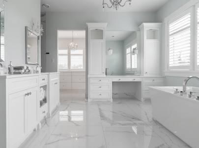 Morden Bathroom - Lindan Homes