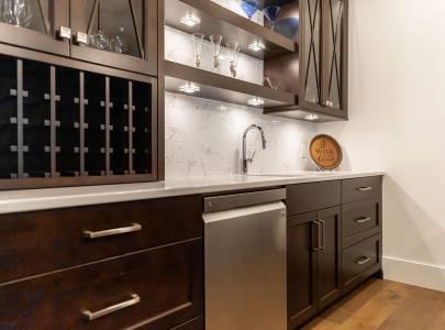 Morden Interior Design of Kitchen - Lindan Homes