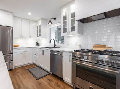 Kitchen - South Langley - Home Renovation